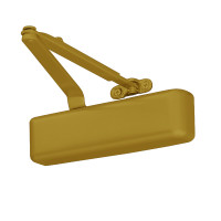 4031-REG-BRASS LCN Door Closer with Regular Arm in Brass Finish