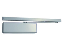 4040XPT-H-BUMPER-AL LCN Door Closer Hold Open Track with Bumper in Aluminum Finish