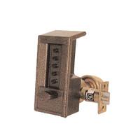 6202-85-41 Simplex Cylindrical Keyless Lock in Black