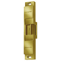 6112-12VDC-US4 Von Duprin Electric Strike in Satin Brass Finish