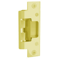 "801A-605 Hes 4-7/8"" x 1-1/4"" Faceplate in Bright Brass Finish"