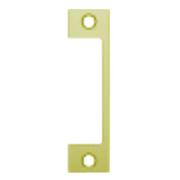 "HTD-605 Hes 4-7/8"" x 1-1/4"" Faceplate in Bright Brass Finish"