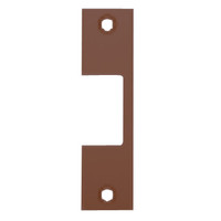 "R-613 Hes 4-7/8"" x 1-1/4"" Faceplate in Bronze Toned Finish"