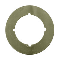 PBSP-135-609 Don Jo Scar Plate in Satin Brass Finish