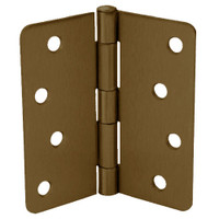 RPB74040-58-632 Don Jo Residential Hinges in Bright Brass Finish