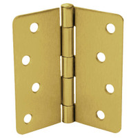 RPB74040-58-633 Don Jo Residential Hinges in Satin Brass Finish