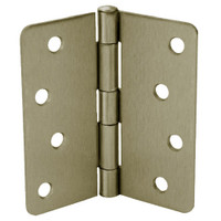 RPB74040-58-647 Don Jo Residential Hinges in Satin nickel Finish