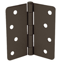 RPB74040-14-640 Don Jo Residential Hinges in Oil Rubbed Bronze Finish