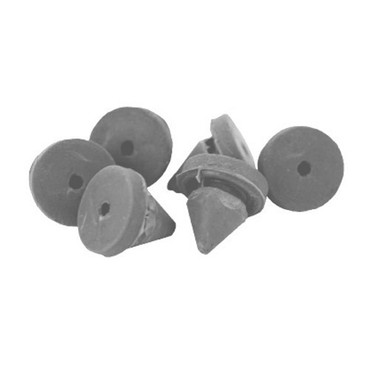 1608-Gray Don Jo Door Silencers in Gray Finish