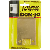 "9103-630 Don Jo 2-1/4"" Extended Lip Strike in Stainless Steel Finish"