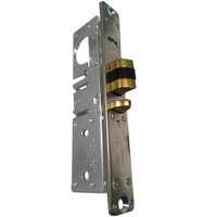 4510-25-201-628 Adams Rite Standard Deadlatch with flat faceplate in Clear Anodized Finish