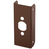 20-10B-FE Don Jo Blank Wrap-Around Plate in Oil Rubbed Bronze Finish