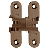 208-US10BL Soss Invisible Hinge in Oil Rubbed Bronze Finish