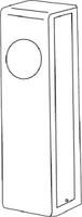 K-BXA/R Keedex Gate Box for Adams Rite Locks