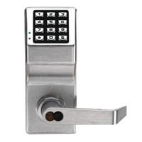 DL2700IC-C-US26D Alarm Lock Trilogy Electronic Digital Lock in Satin Chrome Finish