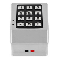 DK3000-MS Alarm Lock Trilogy Electronic Narrow Style Digital Lock in Metallic Silver Finish