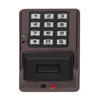 PDK3000-US10B Alarm Lock Trilogy Electronic Narrow Style Digital Lock in Duronodic Finish