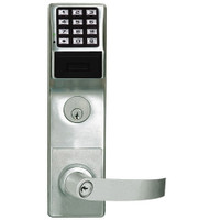 PDL6575CRL-26D Alarm Lock Trilogy Networx Electronic Digital Lock in Satin Chrome Finish