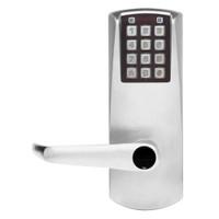 Eplex Pushbutton Lock in Satin Chrome Finish