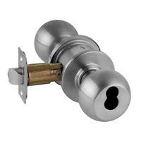A70JD-ORB-626 Schlage Orbit Commercial Cylindrical Lock in Satin Chromium Plated