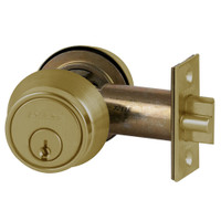 B250PD-609 Schlage B250 Tubular DeadLatch in Antique Brass