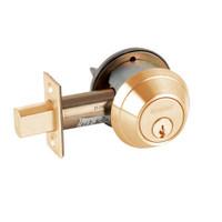 B660P-612 Schlage B660 Bored Deadbolt Locks in Satin Bronze