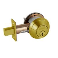 B662P-606 Schlage B660 Bored Deadbolt Locks in Satin Brass