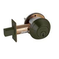 B662P-613 Schlage B660 Bored Deadbolt Locks in Oil Rubbed Bronze
