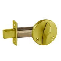 B680-605 Schlage B660 Bored Deadbolt Locks in Bright Brass