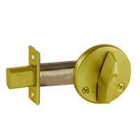 B680-606 Schlage B660 Bored Deadbolt Locks in Satin Brass