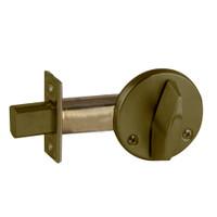 B680-609 Schlage B660 Bored Deadbolt Locks in Antique Brass