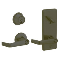 S251PD-SAT-613 Schlage S251PD Saturn Style Interconnected Lock in Oil Rubbed Bronze