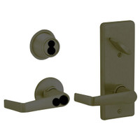 S280JD-SAT-613 Schlage S280PD Saturn Style Interconnected Lock in Oil Rubbed Bronze