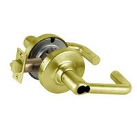 ND82JD-TLR-606 Schlage Tubular Cylindrical Lock in Satin Brass