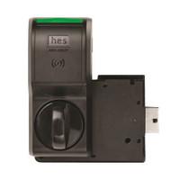 K200-622-B2 Hes Series Wiegand Cabinet Lock in Black