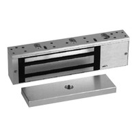 8310-DSS-SCS-28 RCI 8310 Series Single Outswinging Magnetic Lock with Door Status and Security Condition Sensor in Brushed Anodized Aluminum Finish