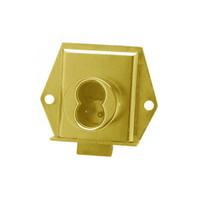 Olympus 725ML-DW-VH-US3 Cabinet Locks in Bright Brass Finish