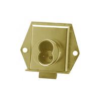 Olympus 725ML-DW-VH-US4 Cabinet Locks in Satin Brass Finish