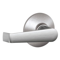 F10-ELA-626 Schlage F Series - Elan Lever style with Passage Lock Function in Satin Chrome