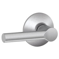 F10-BRW-626 Schlage F Series - Broadway Lever style with Passage Lock Function in Satin Chrome