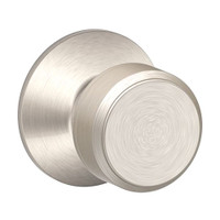 F170-BWE-618 Schlage F Series - Knob Bowery Style with Single Dummy Trim Function in Polished Nickel