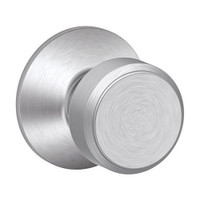 F170-BWE-626 Schlage F Series - Knob Bowery Style with Single Dummy Trim Function in Satin Chrome
