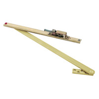 106HP-SOC-US4 Glynn Johnson 100 Series Heavy Duty Concealed Overhead in Satin Brass