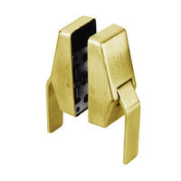 HL6-L-7-605 Glynn Johnson HL6 Series Standard Function Push and Pull latch with Lead Lining in Bright Brass Finish