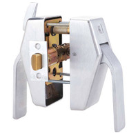 PL7-L-5-625 Glynn Johnson PL7 Series Privacy Function Push Side Thumbturn with Lead Lining in Polished Chrome Finish