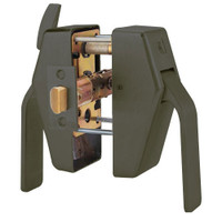 PL8-L-3-613 Glynn Johnson PL8 Series Privacy Function Pull Side Thumbturn with Lead Lining in Oil Rubbed Bronze Finish