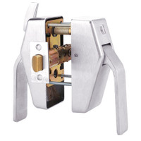 PL8-L-5-629 Glynn Johnson PL8 Series Privacy Function Pull Side Thumbturn with Lead Lining in Polished stainless steel Finish