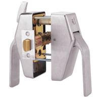PL8-L-7-630 Glynn Johnson PL8 Series Privacy Function Pull Side Thumbturn with Lead Lining in Satin Stainless Steel Finish