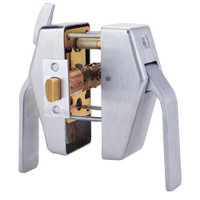 PL8-L-7-626 Glynn Johnson PL8 Series Privacy Function Pull Side Thumbturn with Lead Lining in Satin Chrome Finish
