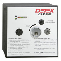 Detex EAX 3500 FK Timed Bypass Exit Alarm with Rechargeable Battery - Flush Mount